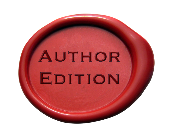 Author Edition seal large
